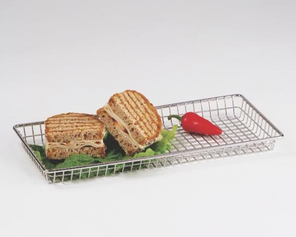 « Grille alimentaire inox »